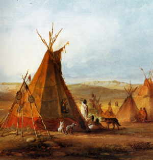 Die Indianer Nordamerikas - Die Prärie-Stämme  Die Indianer No...